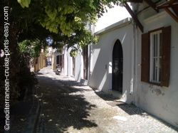 rhodes streets images