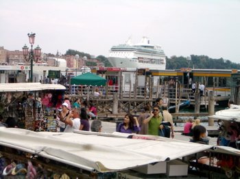 riva dei sette martiri dock, venice cruise port, cruise terminal venice