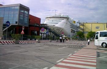 stazione marittima picture, venice port, port of venice