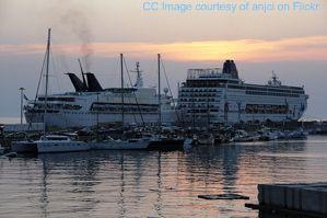 mykonos cruise images