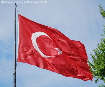 turkish flag photo
