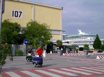 venice cruise terminal, venice pier, venice port, venice pictures