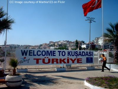 kusadasi photographs, kusadasi port, kusadasi harbour
